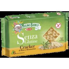 Mulino Bianco Cracker al riso e rosmarino sin gluten 200gr