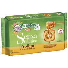 Mulino Bianco Frollini al miele millefiori sin gluten 250gr