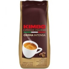 Kimbo café crema intenso en granos 1kg