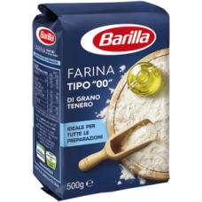 """Barilla farina """"00"""" 500gr"""