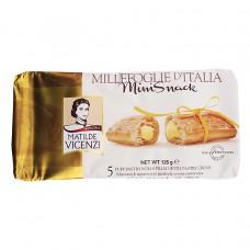 Vicenzi millefoglie minisnack crema pasticcera x5 125gr