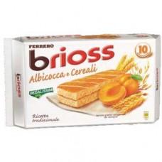 Kinder brioss albicocca e cereali x10 280gr