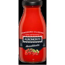 Agromonte sugo di pomodoro ciliegino all'arrabbiata 260gr