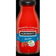 Agromonte sugo di pomodoro ciliegino e ricotta 260gr